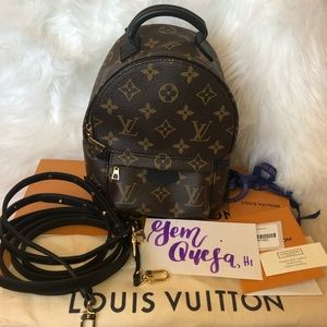 Authentic Brand New Louis Vuitton Palm Spring Mini